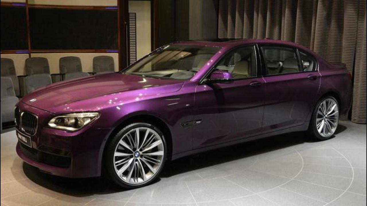 [Copertina] - BMW Serie 7, ad Abu Dhabi la vedono viola