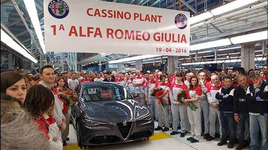 Alfa Romeo Giulia, ecco a chi è andata la prima