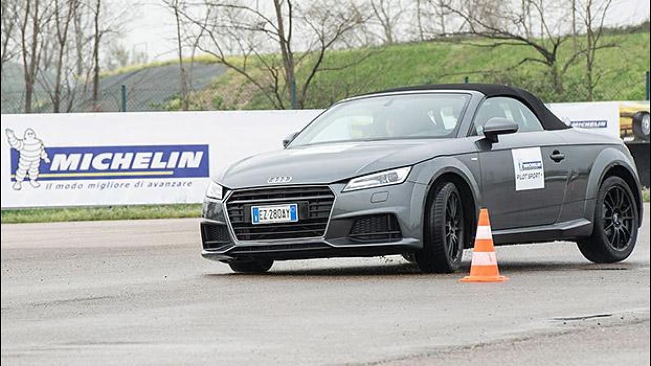 [Copertina] - Michelin Pilot Sport 4, la prova in pista