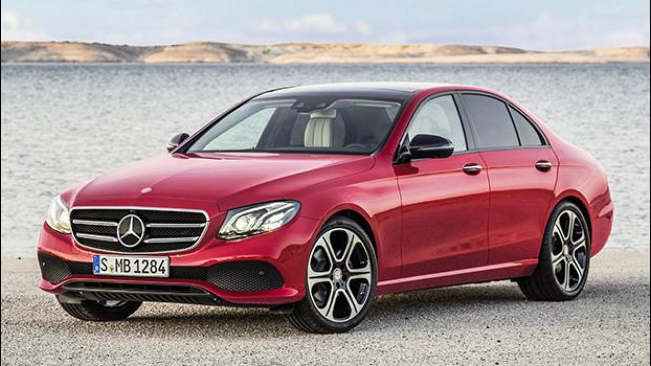 [Copertina] - Nuova Mercedes Classe E, inizia l'era del 2.0 diesel