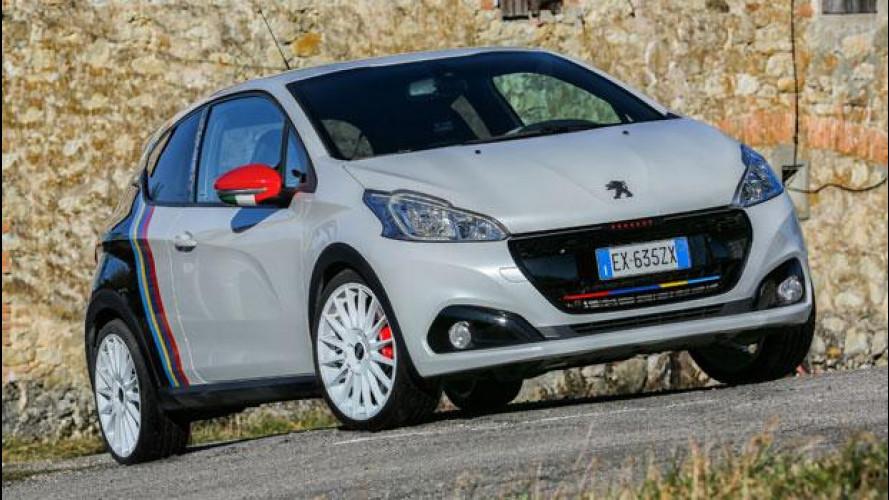 Peugeot 208 GTi/NOVE, triplice tributo al CIR