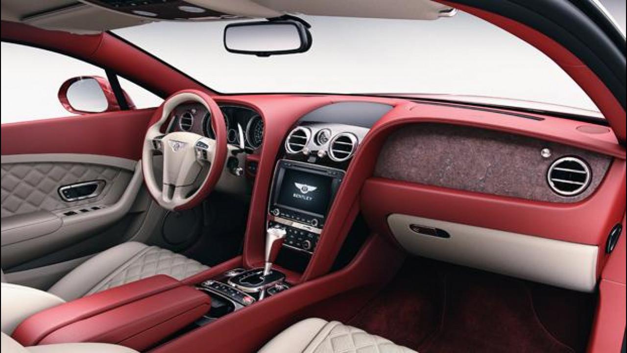 [Copertina] - Da Bentley la plancia in pietra su Continental e Flying Spur