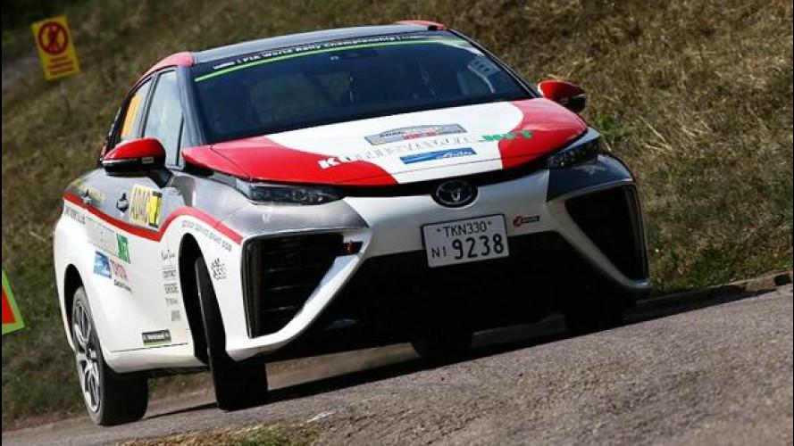 Toyota Mirai, il ritorno al WRC... con l'idrogeno