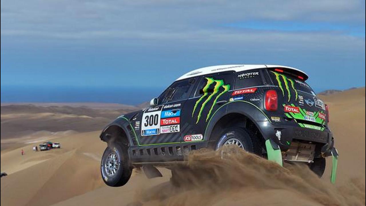 [Copertina] - Dakar 2014, Tappa 10: Sainz si ritira per incidente