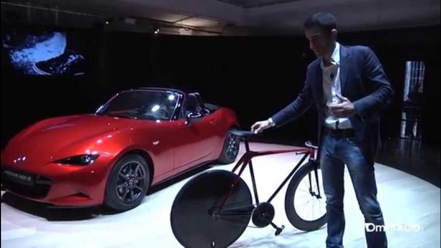 Milano Design Week, Mazda presenta la KODO Bike