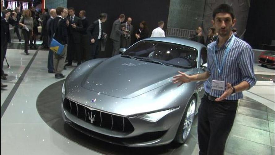 La Maserati Alfieri vista dal vivo a Ginevra: bellissima!