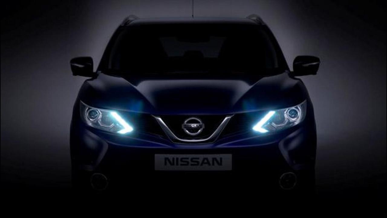 [Copertina] - Nuovo Nissan Qashqai, la prima foto del frontale