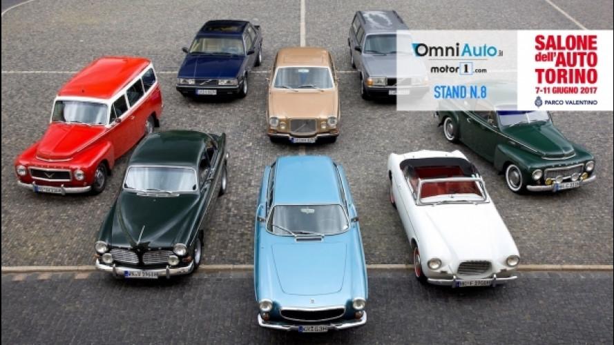 Parco Valentino, Volvo porta 36 auto al Salone dell'Auto di Torino