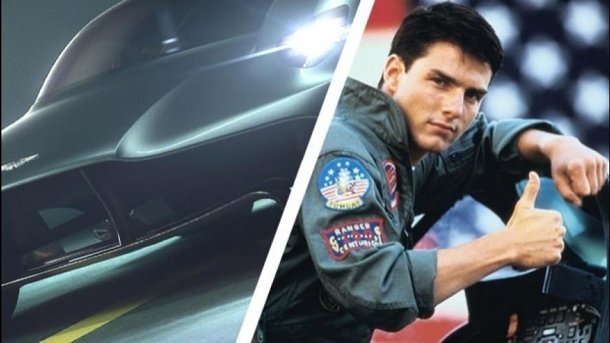 Aston Martin Valkyrie, la supercar da Top Gun