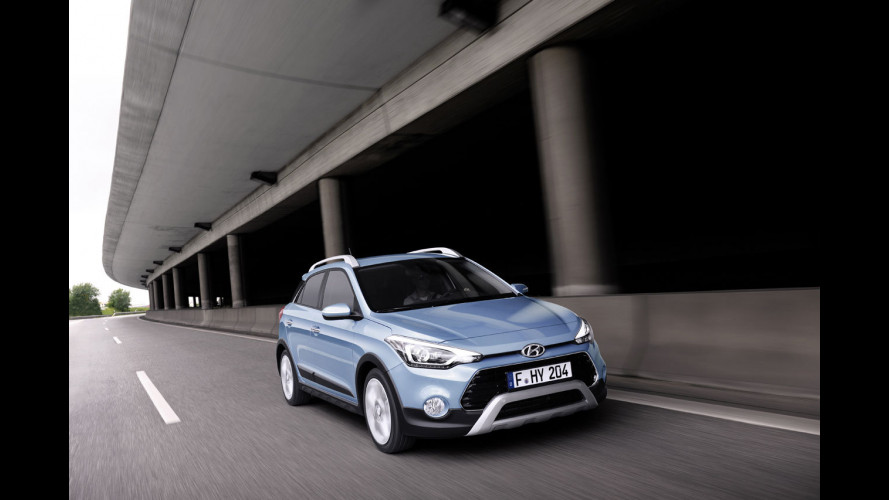 Hyundai i20 Active, piccola crossover