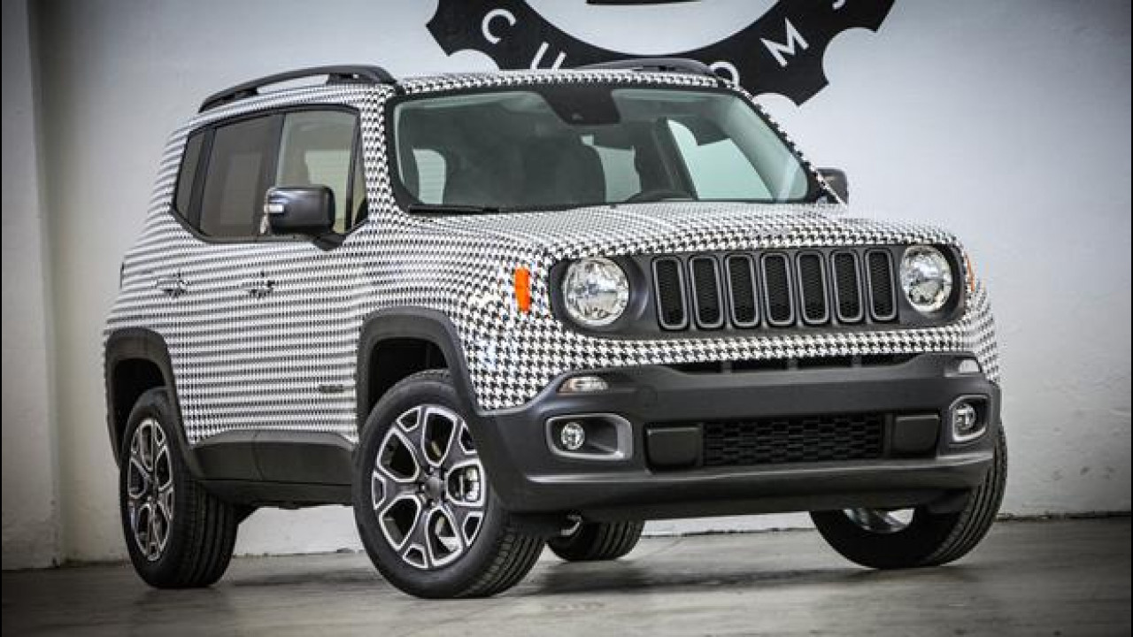 [Copertina] - Jeep Renegade, in pied de poule per beneficenza