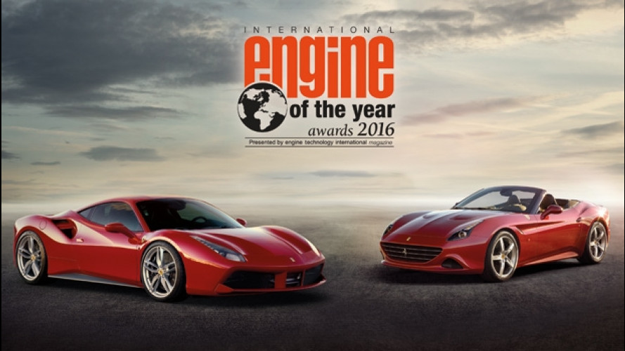 Il V8 Ferrari è l'International Engine of the Year 2016