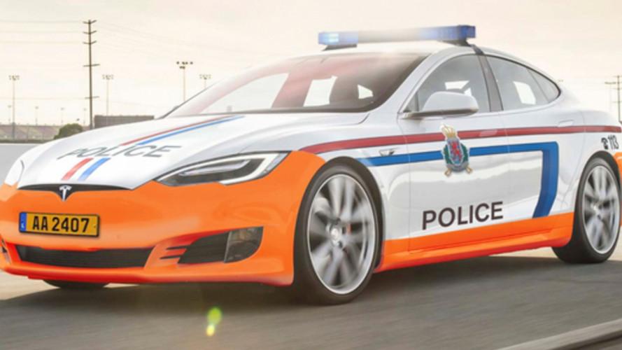 Due Tesla Model S alla Polizia (in Lussemburgo)