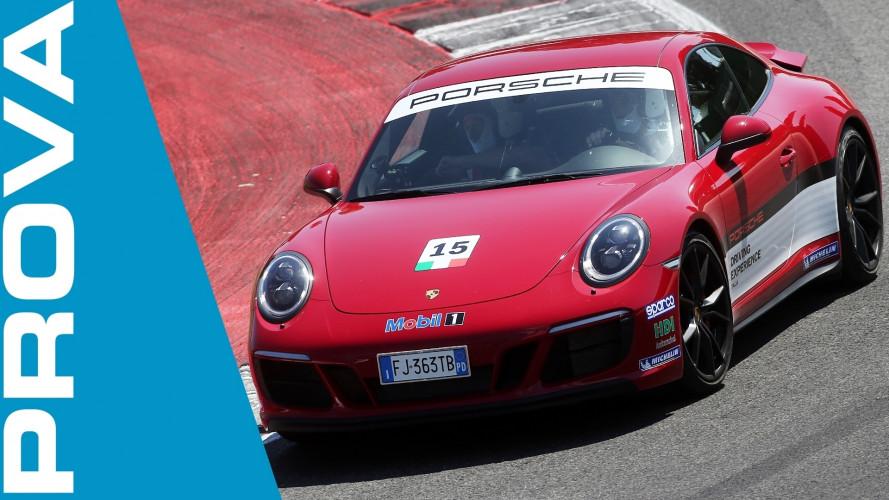 Porsche e Michelin, ballo di coppia a Misano