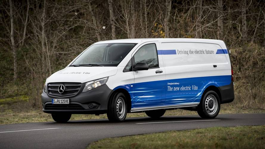 Mercedes eVito Goes On Sale; eSprinter Confirmed For 2019