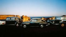 Volvo Historical parade: 240, 832, 544, 654, ÖV4