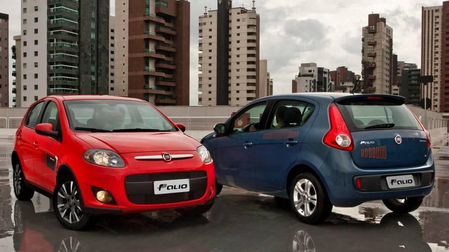 Fiat finalmente tira Palio e Punto do site oficial