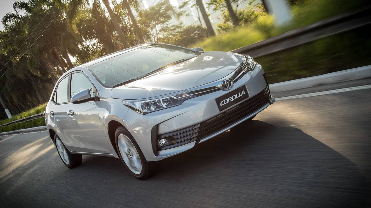 Toyota Corolla - 5 mil unidades por mês
