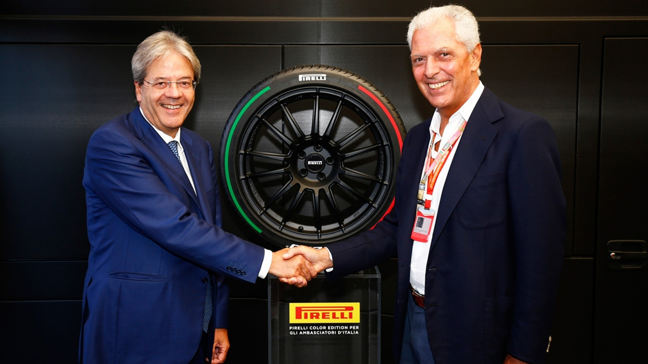 [Copertina] - Pirelli, una gomma tricolore per Gentiloni