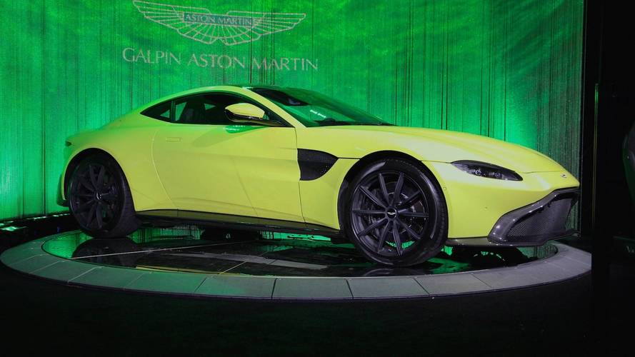 2018 Aston Martin Vantage Positively Glows At L.A. Auto Show