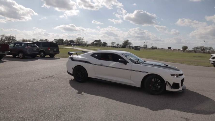 Hennessey Exorcist Camaro ZL1 Vid Shows What 1,000 HP Feels Like