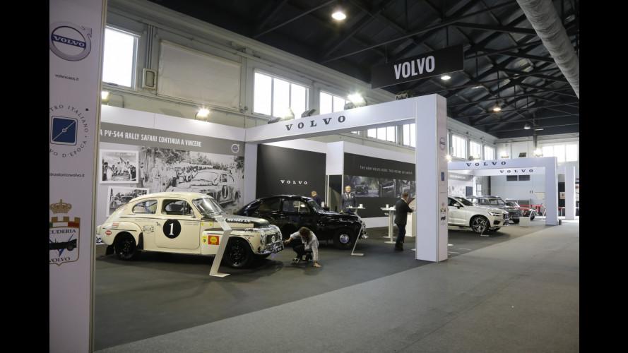 Volvo celebra la sua storica wagon ad Auto e Moto d'Epoca 2017