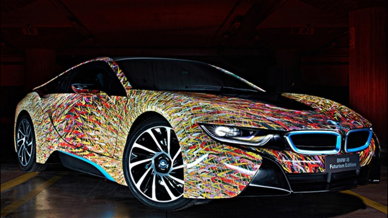 [Copertina] - BMW i8 Futurism Edition, festa per i 50 anni di BMW in Italia