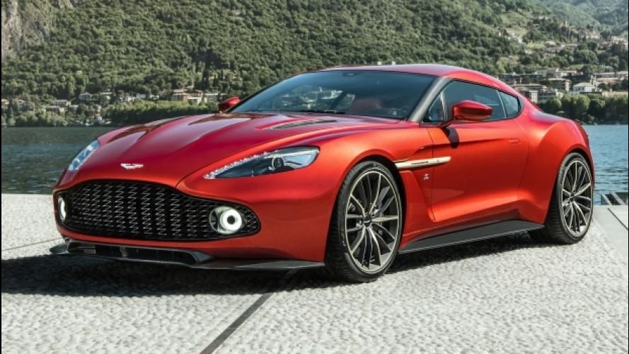 Aston Martin Vanquish Zagato Coupé, arriva in piccola serie