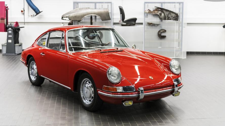 Torna a splendere una Porsche 911 del 1964
