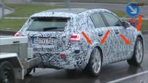 Mercedes-Benz GLA-Serisi casus video