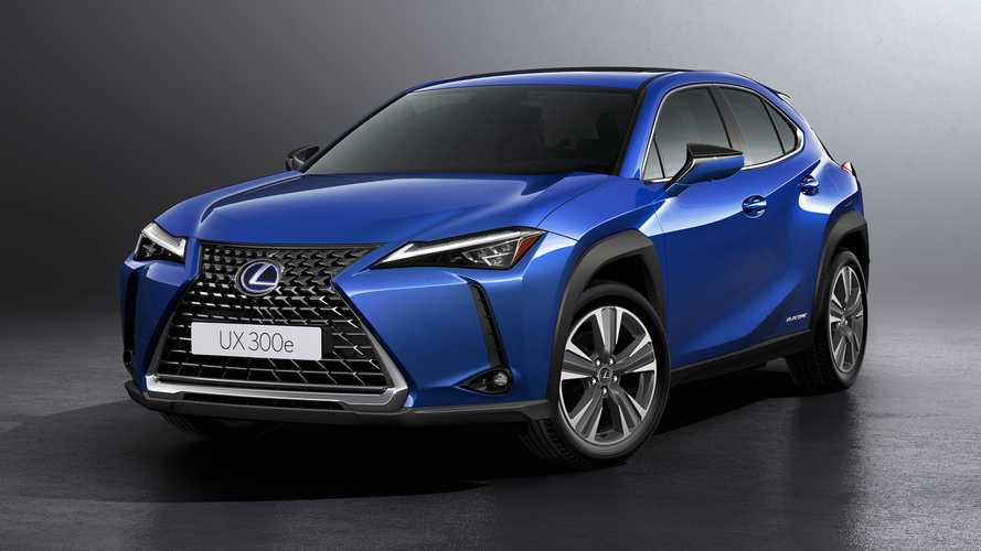 2020 Lexus UX 300e Debuts As Brand's First-Ever Electric Vehicle