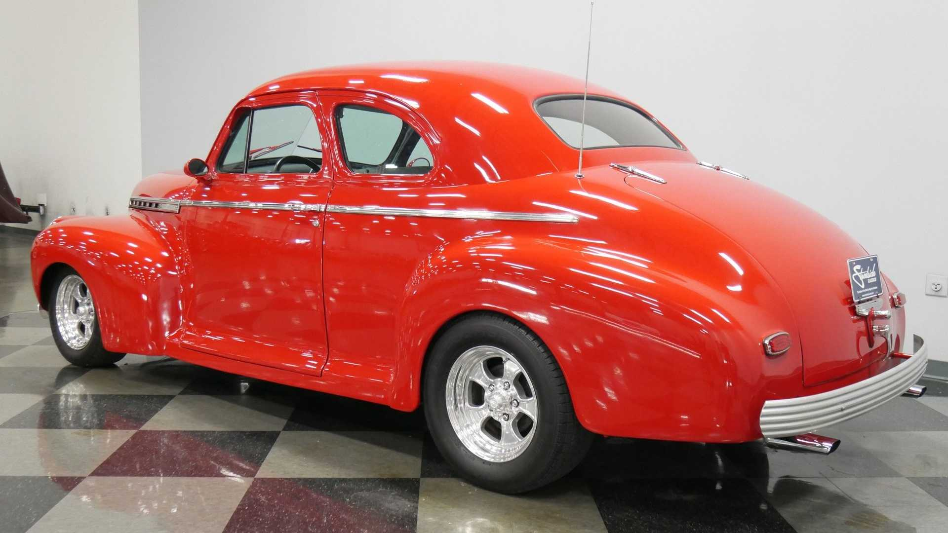 "[""Vivid Red 1941 Chevrolet Super Deluxe Is A Joy To Drive""]"
