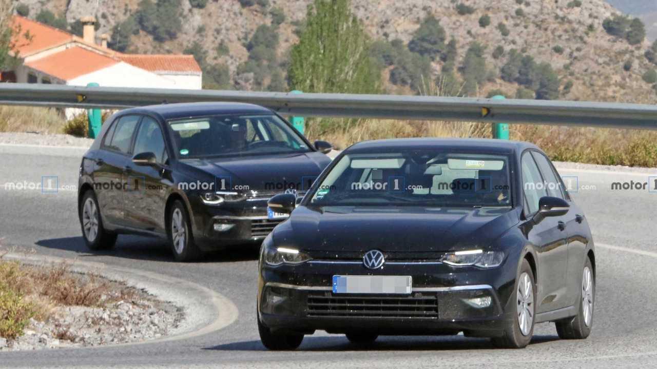 Volkswagen Golf 8 - gli ultimi test su strada