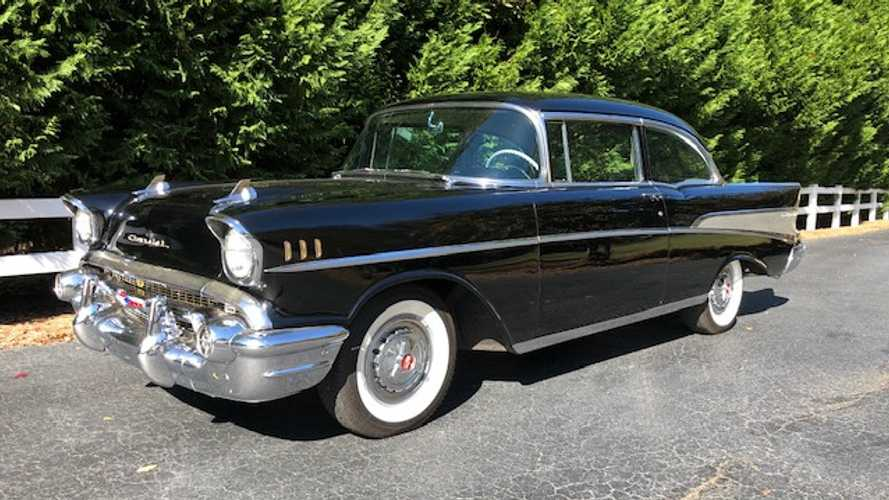 Original 1957 Chevrolet Bel Air Being Auctioned At No Reserve