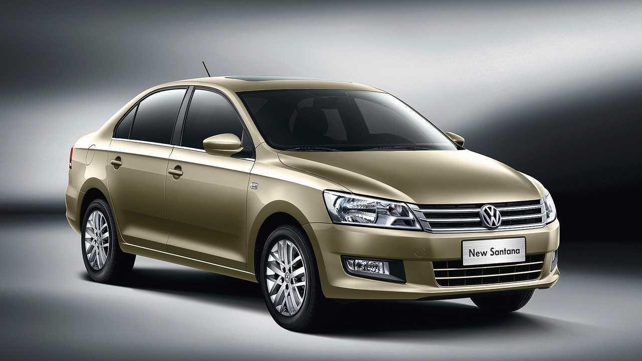 Top 10 VW Auslandsmodelle: VW Santana