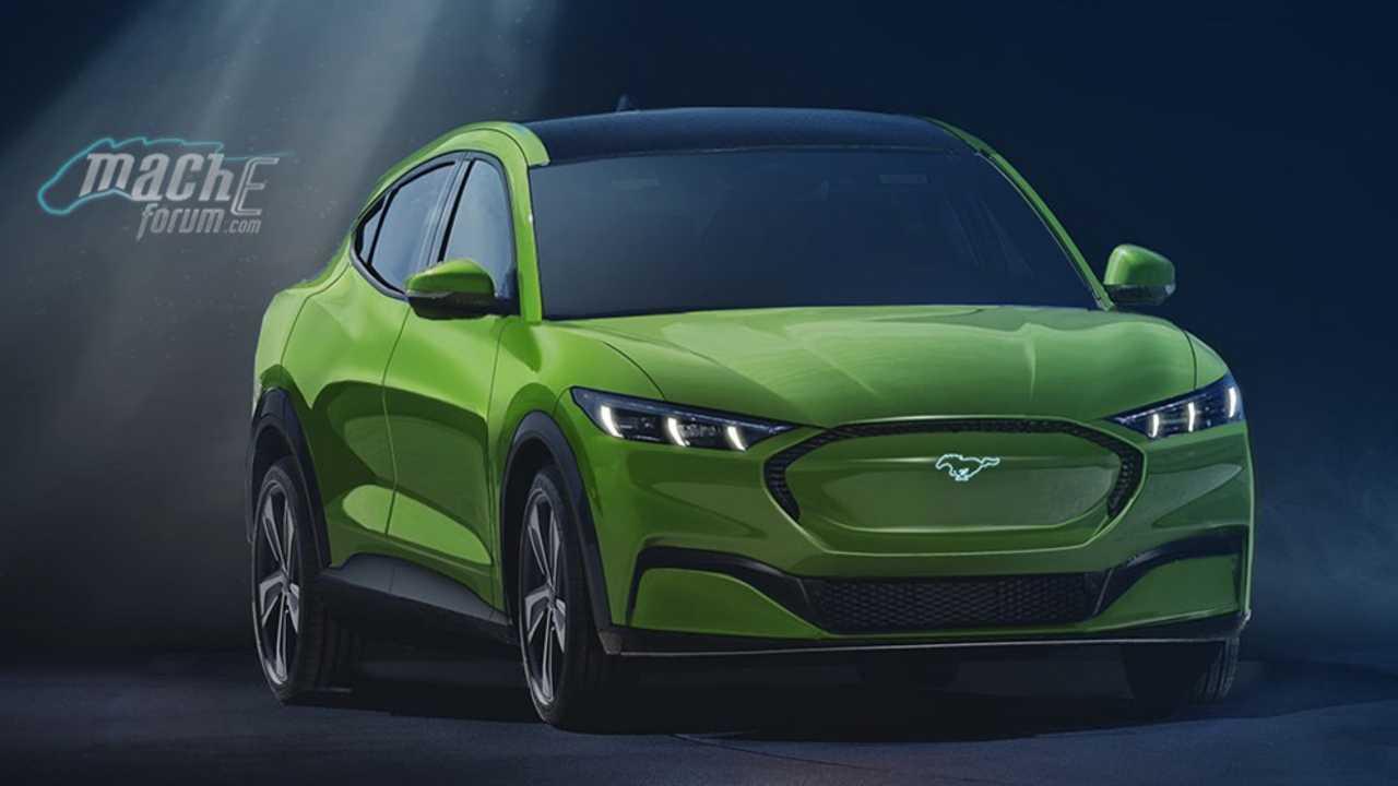 Ford Mustang-inspired EV rendering lead image