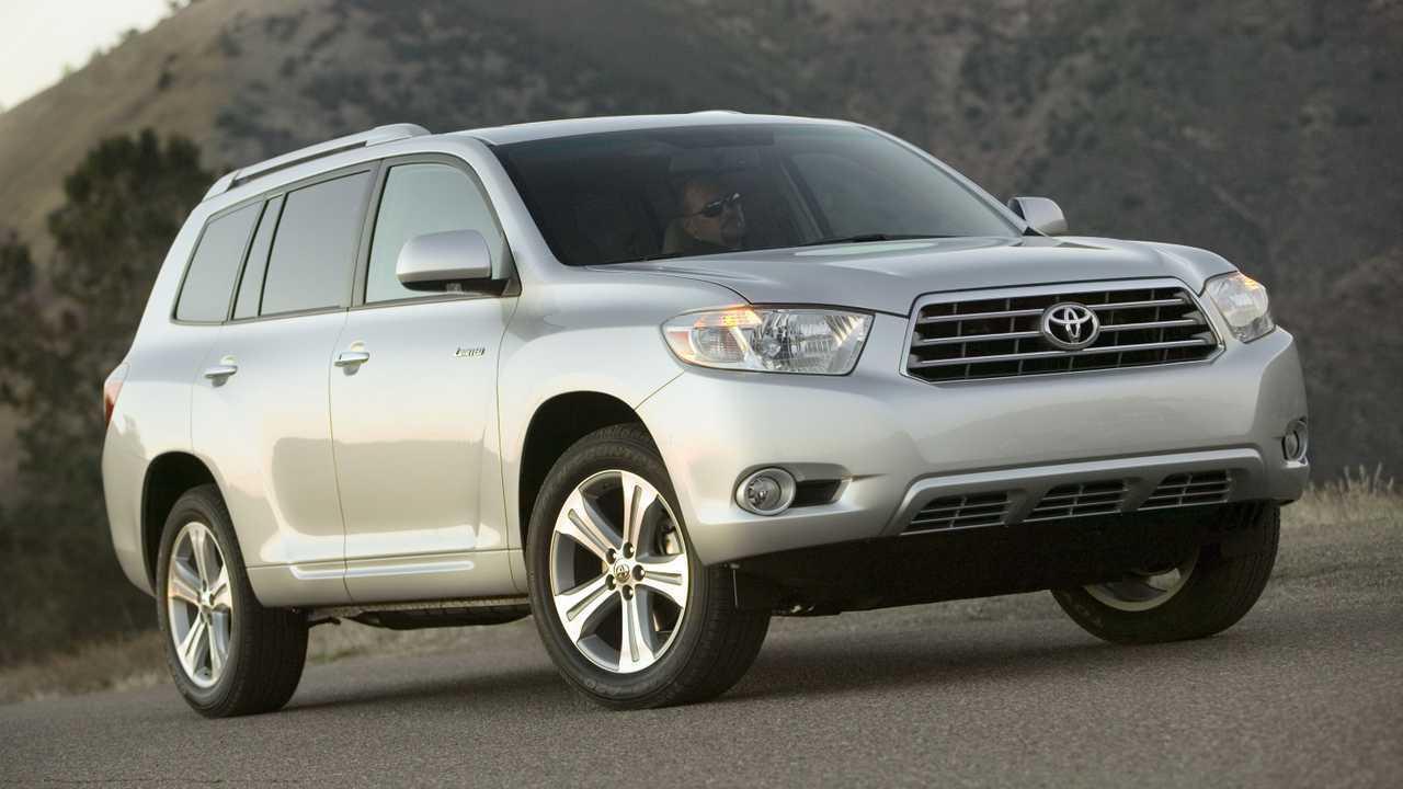 13. 2009-2010 Toyota Highlander