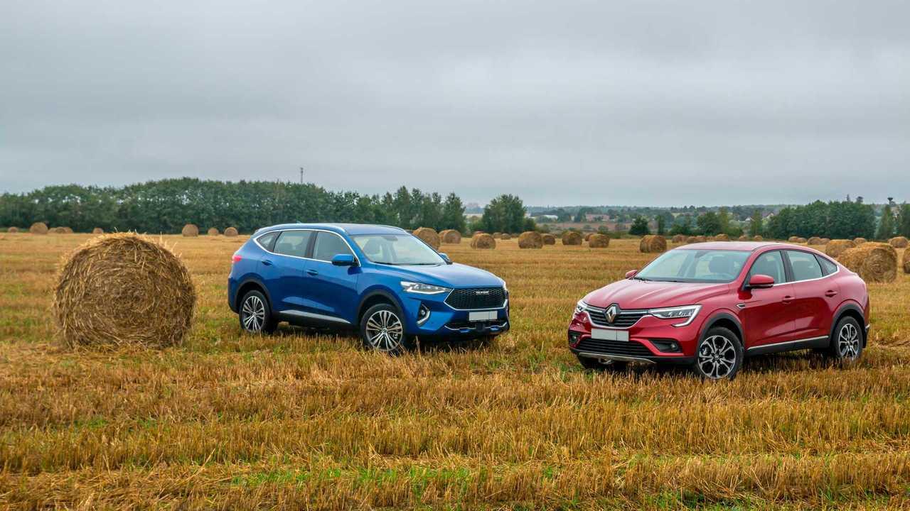 Renault Arkana против Haval F7