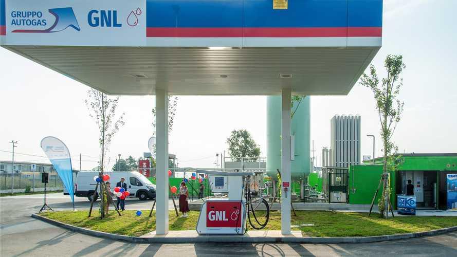 A Chieri una nuova stazione di rifornimento LNG