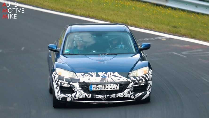 What is this Mazda RX-8 doing at the Nürburgring?