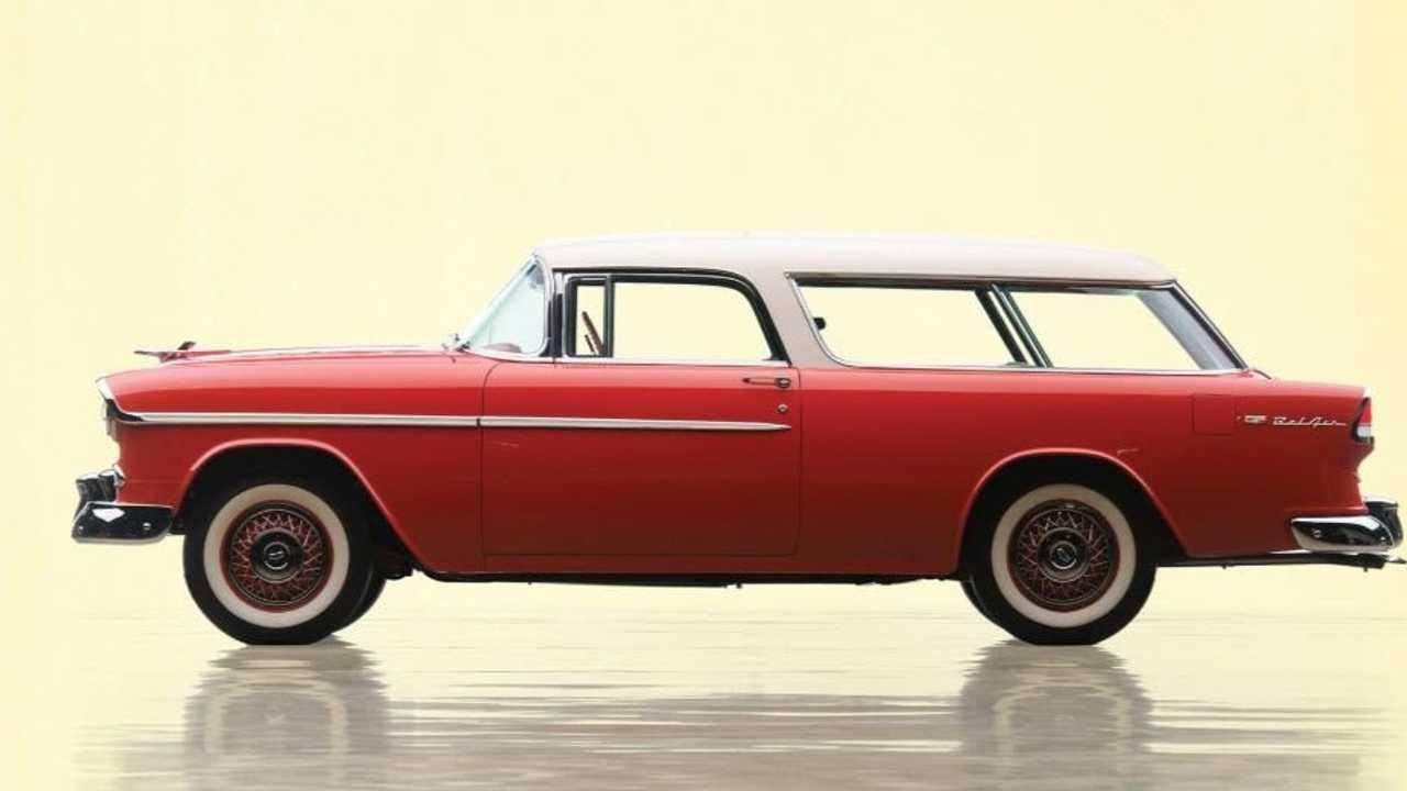 Place Your Bid On This Gorgeous 1955 Chevy Bel Air Nomad