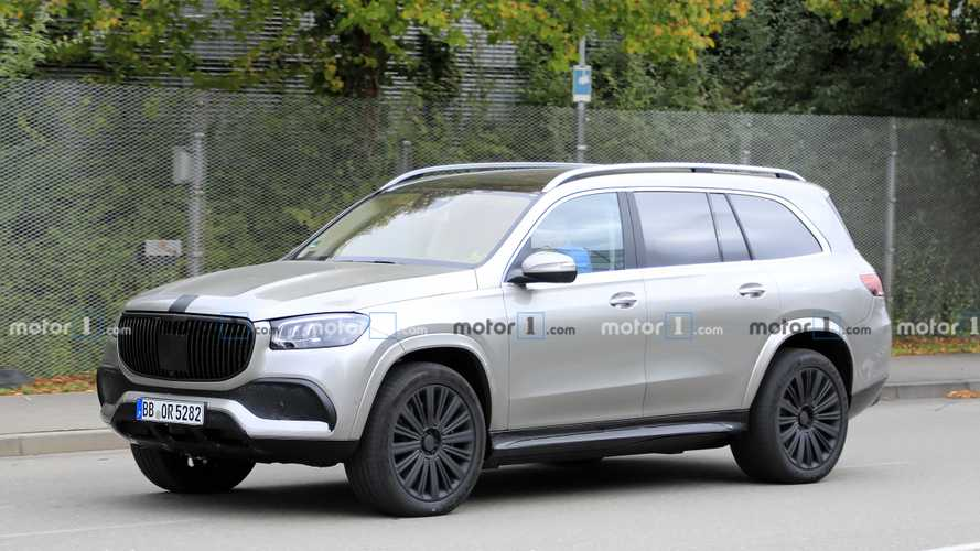 Mercedes-Maybach GLS, le nuove foto spia