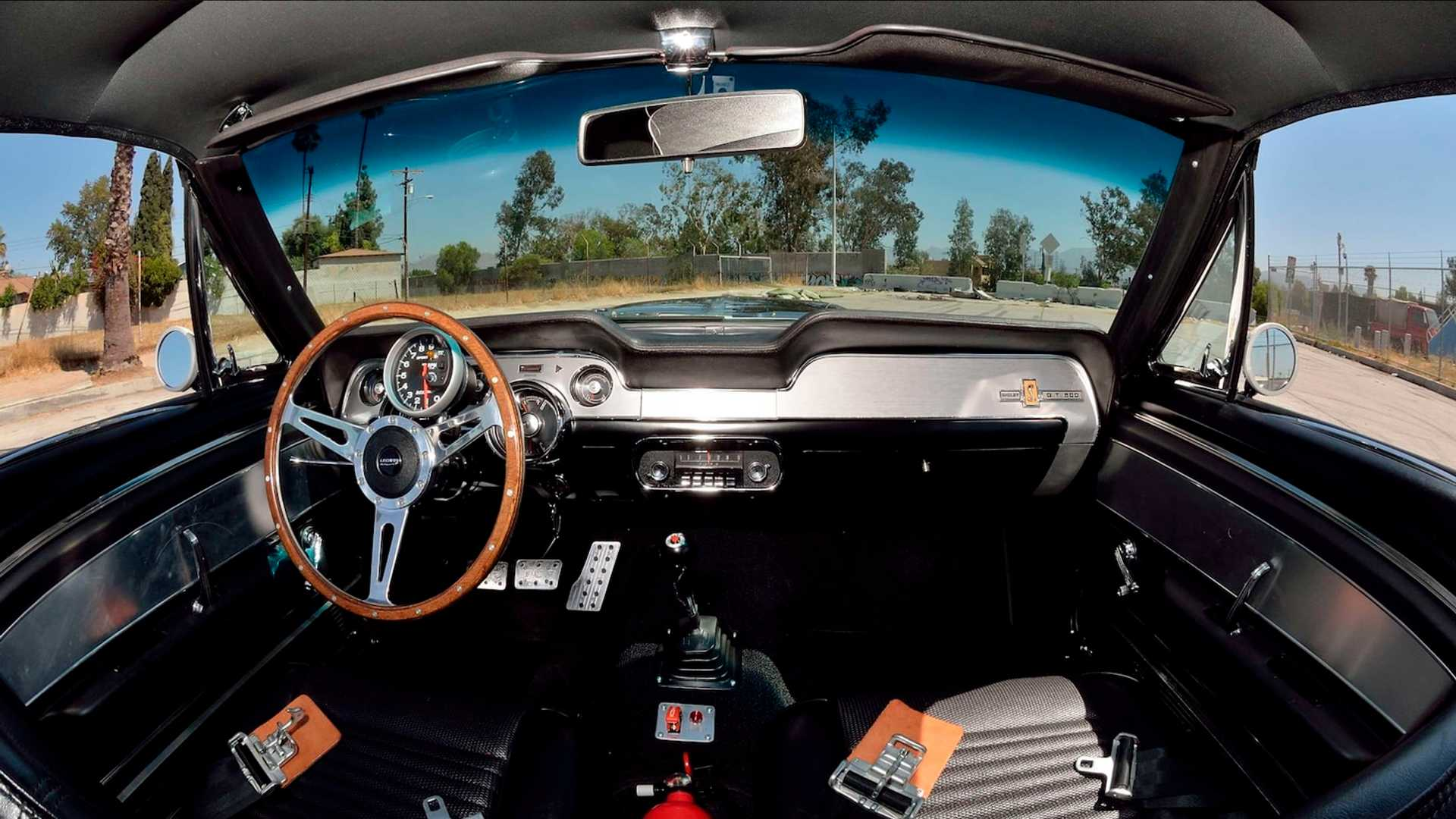 "[""1967 Ford Mustang Hero Car From 'Gone In 60 Seconds' Up For Grabs""]"