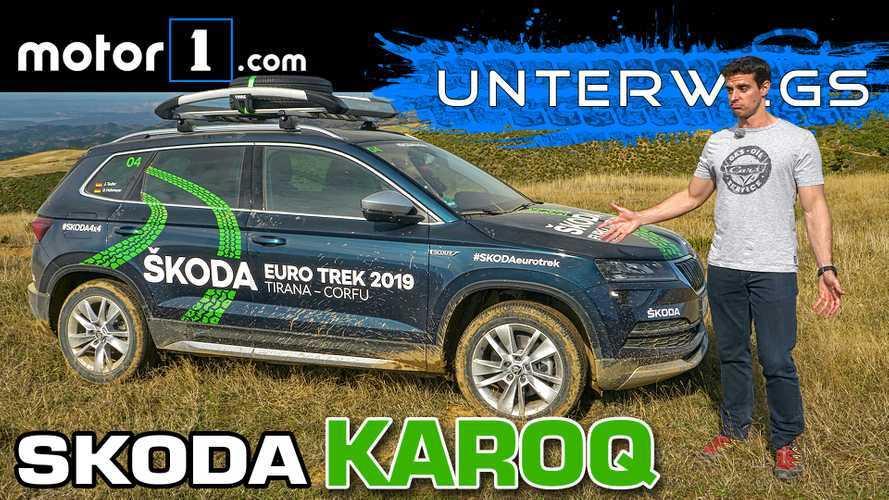 Video: Skoda Karoq Scout im Test | Hart genug für Albanien?