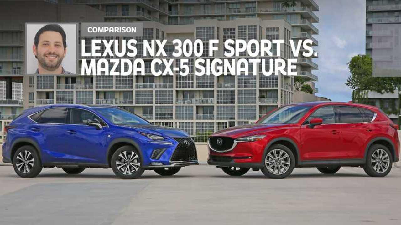 2019 Lexus NX 300 Vs 2019 Mazda CX-5