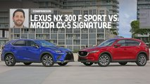 2019 lexus nx 300 vs 2019 mazda cx 5 comparison