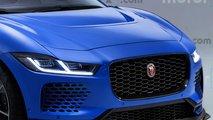 Render Jaguar I-PACE SVR