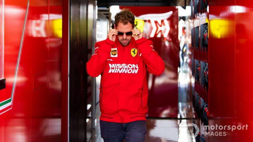 Sebastian Vettel at US GP 2019