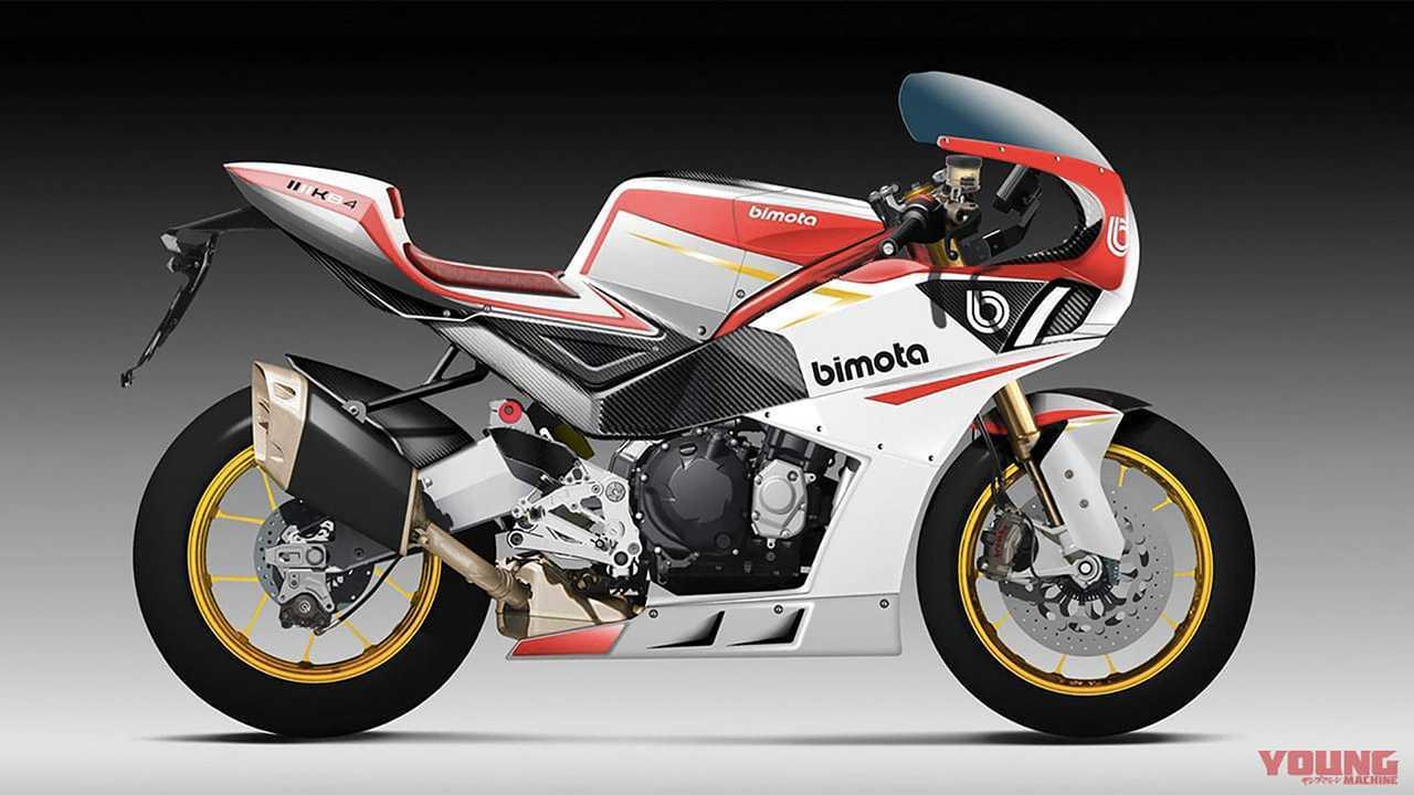 Kawasaki-Bimota KB4 Render