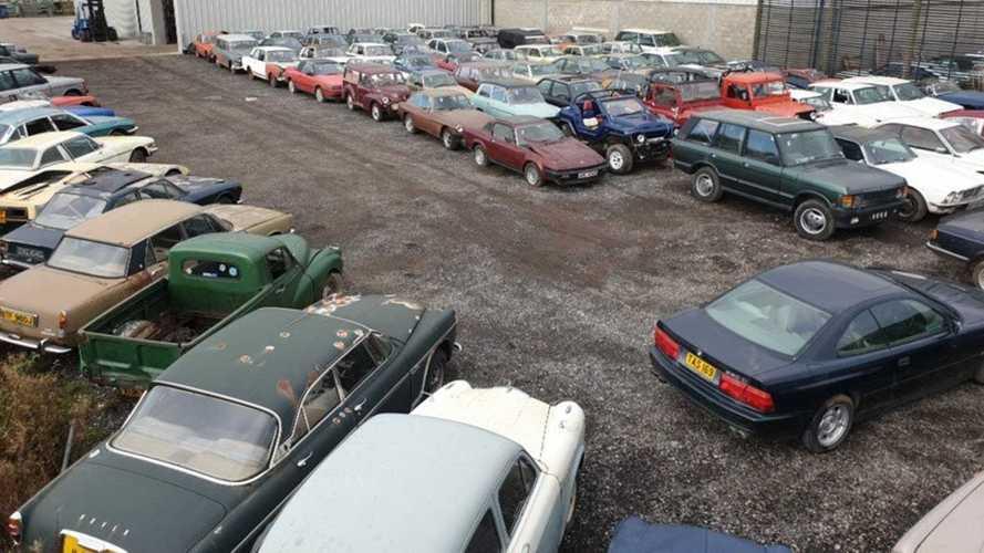 Subasta de 135 coches incautados